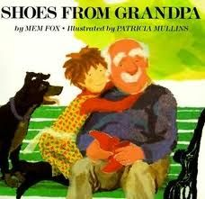 Shows from Grandpa by Mem Fox. A lovely story with amazing artwork illustrations