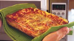 Speedy Lasagna - Budget-Friendly Quick-Fix Meals - Southern Living - Jarred spaghetti sauce and no-cook noodles take the labor out of this hearty traditional lasagna. The microwave speeds up the whole process and gets the dish on the table in an hour.   Recipe:Speedy Lasagna