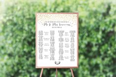 This (Printable!) Seating Chart Will Save You Time |  #arrangements #charts #creationery #findyourseat #printable #seating #seatingchart #seatingcharts #tablechart | printable seating chart for weddings by creationery