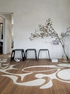 modernist stenciled floor patterns w. lustig inspiration painted floor Decking of your house one of the most remarkable interior architectural features. Selecting the floor cove.