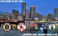 There's nothing better than being a Boston sports fan...