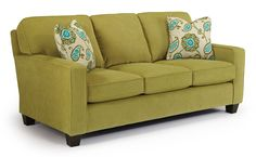 Annabel  Custom 3 Over 3 Sofa by Best Home Furnishings