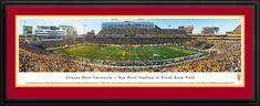 Arizona State Sun Devils Panoramic Picture - Sun Devil Stadium Picture $199.95