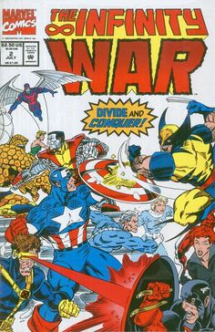The Infinity War #2 July 1992