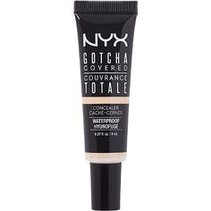Nyx Cosmetics Gotcha Covered Concealer Light || new favorite, and its waterproof!