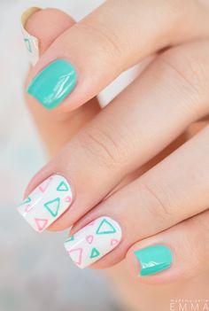 Nailstorming_Blog nail art geometric