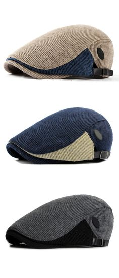 US$12.88+Free shipping. Knitted Hat, Beret Hat, Gentleman Cap, Newsboy Cap.Unisex, Buckle Adjustable. Material: Cotton+Polyester.  Color: Gray, Dark, Gray, Beige, Black, Coffee, Navy.