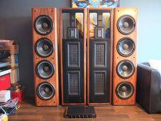 Audiophile Music, Hifi Audio, Diy Speakers, Stereo Speakers, Audio Room, Tape Recorder, Vacuum Tube, Loudspeaker, Audio Equipment