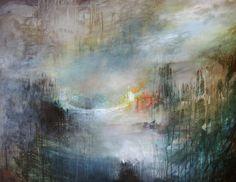 "Joakim Nordin. ""Glöd"". 130x100 cm. Acryl on canvas. www.joakimnordin.se"