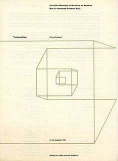 """Tentoonstelling Kring Eindhoven"", Exhibition Leaflet, Stedelijk Van Abbemuseum, Eindhoven, 1959"