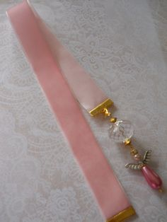 Pink Angel Bookmark