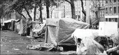 Tompkins Square Park Tent City