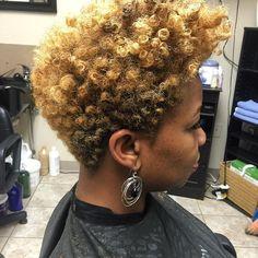 Short Natural Styles, Natural Hair Short Cuts, Short Hair Cuts, Natural Hair Twa, Natural Beauty, Natural Tapered Cut, Tapered Twa, Tapered Haircut, Sassy Hair