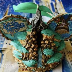 Disney Christmas Decorations, Fruit, Food, Disney Christmas Ornaments, Essen, Meals, Yemek, Eten