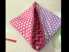 Half square triangle pouch | Craftsy