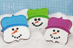 """""""Snowman Celebration"""" -- it's a link party at this blog post, so head over if you love snowman crafts and (mostly) edibles!"""
