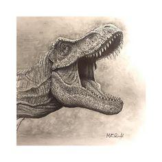 "Jurassicparkfanart on Instagram: ""@gowellart this is incredible"" Dinosaur Art, The Incredibles, Instagram"