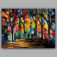 Knife+Forest+Pure+Handmade+Design+Landscape+Oil+Painting+–+GBP+£+137.74