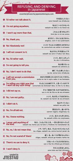 Japanese polite refusal
