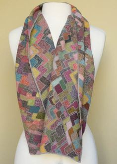 Territoire scarf – French Needlework Kits, Cross Stitch, Embroidery, Sophie Digard – The French Needle