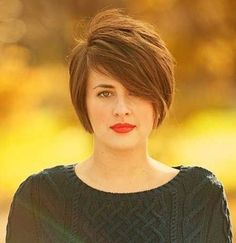 short haircuts for round chubby faces 2014 - Google Search