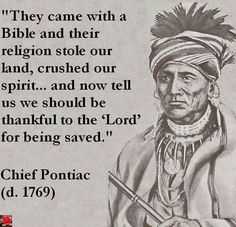 chief pontiac quotes - Google Search