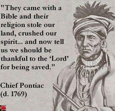 chief pontiac quotes - Google Search