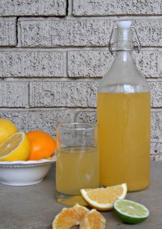 homemade elecrolyte drink--delicious, easy to make and no artificial ingredients! thesproutingseed.com