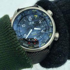 Oris Big Crown ProPilot Altimeter by watchpartner