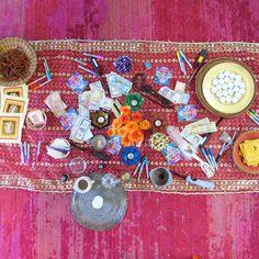 My altar for Navaratri- 9 nights of the goddess