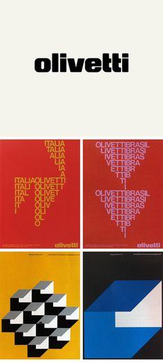 Olivetti #design #patterns #graphics