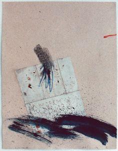 D-22.Feb.1989painting, collage林孝彦 HAYASHI Takahiko