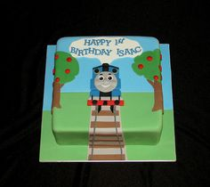 Thomas the Tank Engine 3 | Design by Alison's Cakes. www.ali… | Flickr
