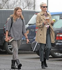 It's all relative! Michelle Williams enjoyed a stroll with her daughter Matilda in New York on Friday as they enjoyed some bonding time