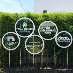 Signage Phuket Entrance Signage, Directional Signage, Office Signage, Wayfinding Signs, Outdoor Signage, Exterior Signage, Corporate Design, Retail Design, La Sign