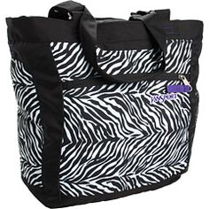 JanSport - Ella Tote.  Used just this and a vera bradley duffel to go to Florida.  No purse or check in luggage.  This is an awesome tote!