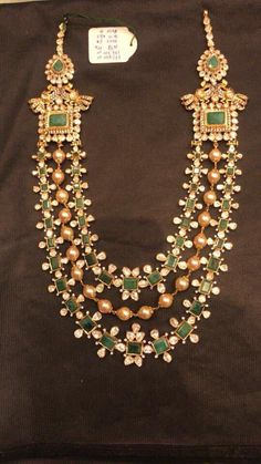 Looking for Gold layered necklace designs? Here are our picks of 20 designs and where you can shop them online! Gold Jewellery Design, Gold Jewelry, Gold Necklaces, Silver Earrings, India Jewelry, Jewellery Box, Statement Jewelry, Beaded Jewelry, Grandmother Jewelry