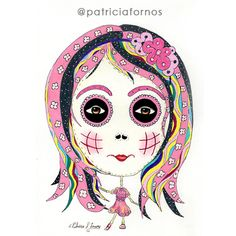 Fashion kids, little skull by Patricia Fornos