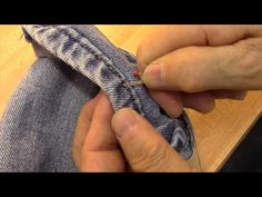 mad mim  Altering Jeans // adding width to a waistband