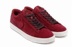 supra skytop blue - Nike Blazer Basse Suede VT Gym Bourgogne Rouge Chaussures Femmes ...