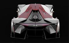 Audi Future Le Mans Vision Car & Racing Shoes on Behance by Daniel Platek More car design here.
