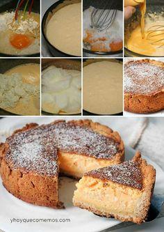 Tarta de queso alemana (käsekuchen) | https://lomejordelaweb.es/  Pinterest ^^ | https://pinterest.com/Ilovecocinar
