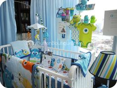 Monsters Inc. baby shower | Monsters Inc