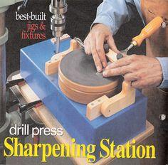 Sharpening Station on drill press