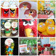 super cute angry birds party from Ko-Jo designs!