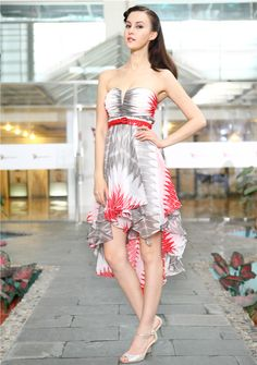 keyhole high low summer occasion dresses #high low -  #wedding guest dresses