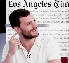jamie chatting with the Los angeles times