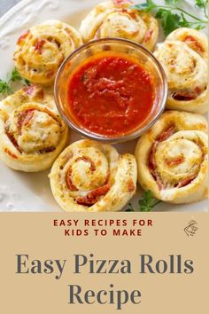 Easy pizza rolls recipe easy recipes for college students, easy recipes Easy Recipes For Beginners, Easy Asian Recipes, Fun Easy Recipes, Vegetarian Recipes Easy, Easy Chicken Recipes, Recipes Dinner, Healthy Chicken, Healthy Recipes, Easy Meals For One