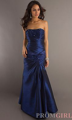 Long Formal Gown 29283 at PromGirl.com ($99.00) <3 (rated 4.5 'tiaras') <3 (comes in multiple colors!)