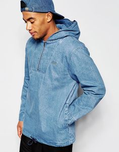 STUSSY OVERHEAD DENIM JACKET